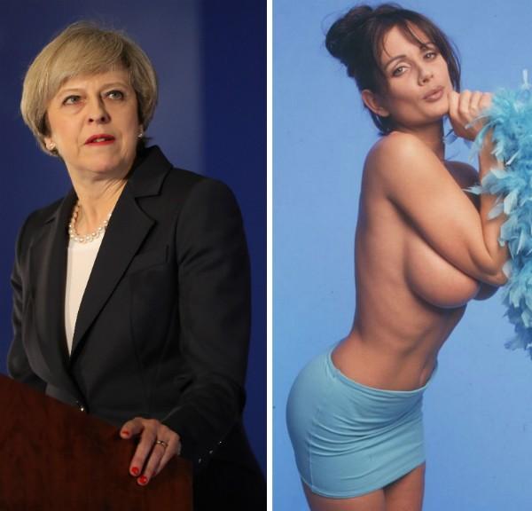 Resultado de imagem para Casa Branca troca nome de primeira-ministra britânica pelo de atriz porno