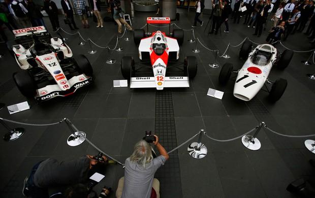 HOnda volta a fórmula em 2015 e anuncia acerto com a mclaren - exposição de carros (Foto: Agência Reuters)