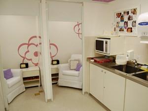 Sala de apoio à amamentação do Itaú-Unibanco (Foto: Divulgçaão/Itaú-Unibanco)
