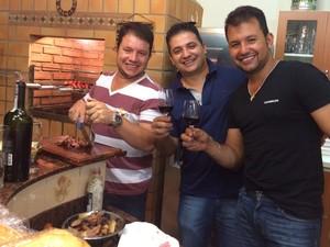 Família Marcon vinhos Andradas (Foto: Arquivo Pessoal/Família Marcon)
