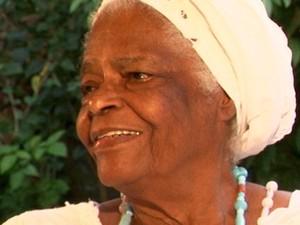 mãe stela de oxossi (Foto: Reprodução/TV Bahia)
