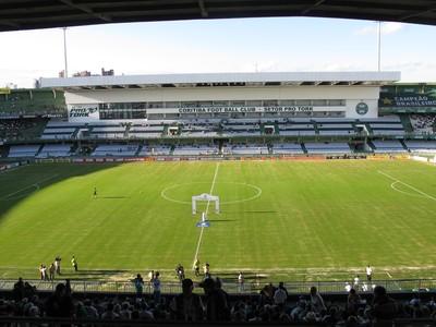Couto Pereira Coritiba x Flamengo (Foto: Ivan Raupp)