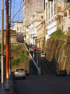 Ladeira da Montanha (Foto: Egi Santana/G1)