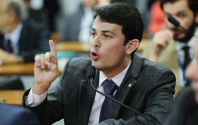 MP do Futebol votação relatório Marcelo Aro (Foto: Geraldo Magela / Agência Senado)