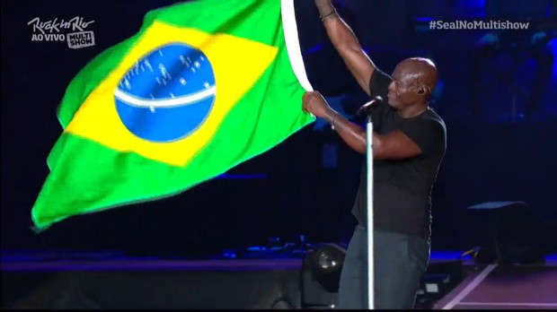 Seal no Rock In Rio 2015 (Foto: Multishow)