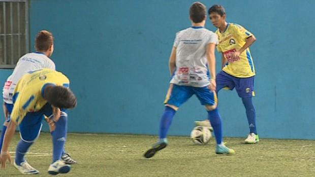 Escolinha Real Manaus (Foto: Reprodução/TV Amazonas)