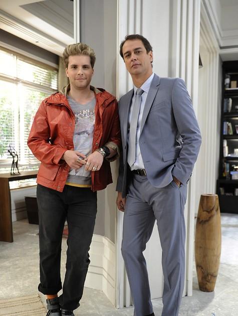 Thiago Fragoso e Marcello Antony (Foto: Estevam Avellar/TV Globo)