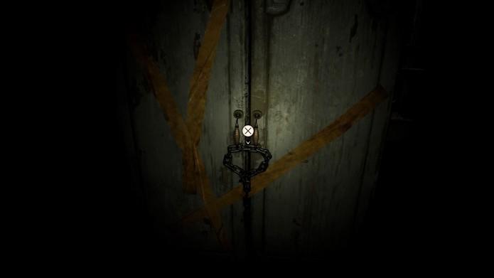 Você precisa encontrar uma ferramenta para abrir o armário (Foto: Reprodução/André Mello)