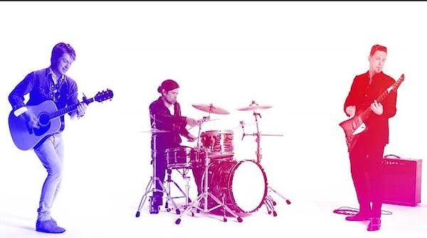 Os irmãos membros do trio Hanson (Foto: Reprodução)