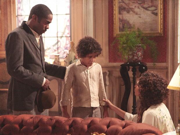 Lado a Lado – Elias pergunta sobre o pai e Zé Maria repensa a sua união com Isabel