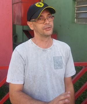 Renato torcedor portuguesa (Foto: Marcelo Hazan)
