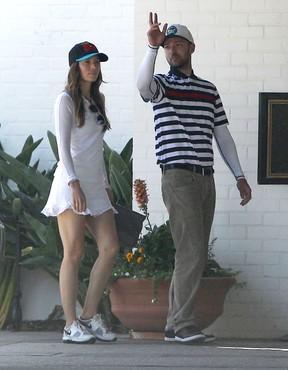 Jessica Biel e Justin Timberlake (Foto: Agência/ Grosby Group)