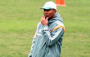 Cristovão Borges no treino do Fluminense (Foto: Fernando Cazaes / Photocamera)