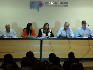 Audiência pública em Salvador (Foto: Ruan Melo/ G1)