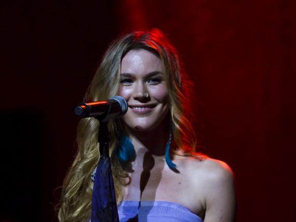 Veja fotos do show da Joss Stone em So Paulo (Foto: Felco)