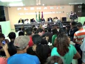 Sessão ocorreu nesta terça-feira (17) (Foto: Reprodução/TV Amazonas)