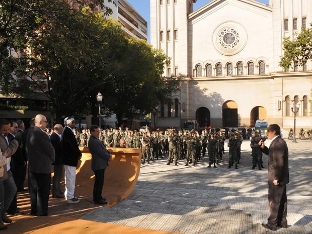 700 pessoas participaram de Ato Cívico em comemoração ao aniversário de Piracicaba (Foto: Justino Lucente/Prefeitura de Piracicaba)