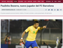 """Editor de jornal espanhol teme que Paulinho sirva de """"bode expiatório"""""""