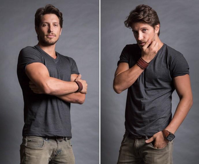 Daniel é um dos modelos gatos da Fanny Models (Foto: Beto Roma / TV Globo)