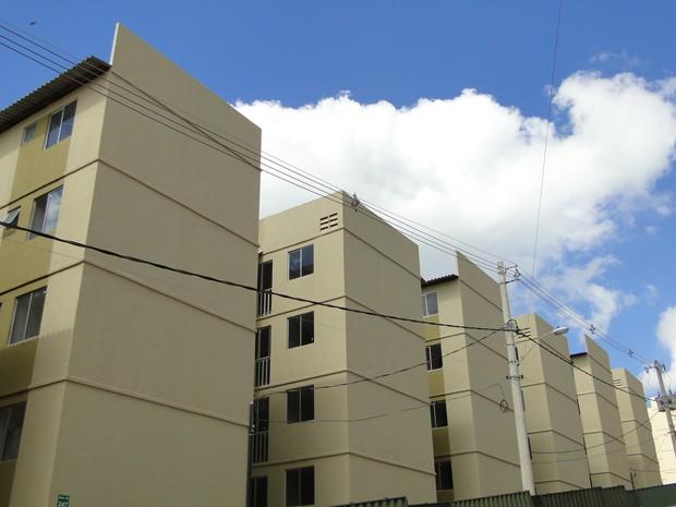 1.640 unidades habitacionais foram inauguradas em Ribeirão das Neves.  (Foto: Pedro Cunha/ G1)