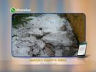 Moradores registram chuva com granizo na região de Itapetininga