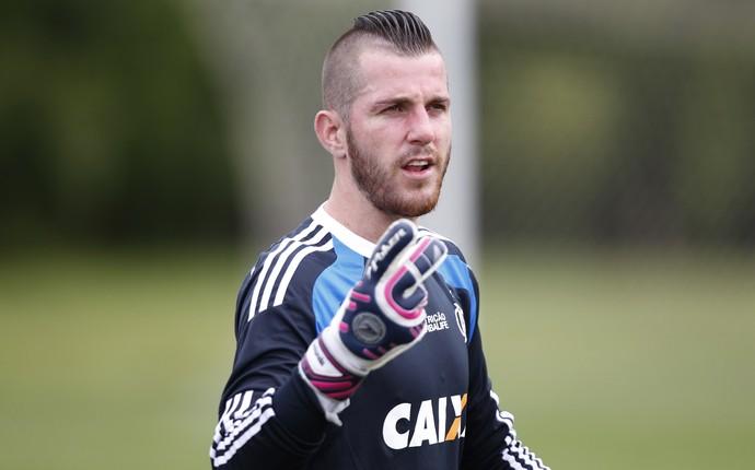 Paulo Victor treino Flamengo Mangaratiba (Foto: Gilvan de Souza/Flamengo)