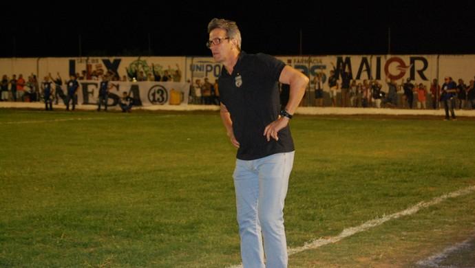 Leocir Dall'Astra, técnico do Treze (Foto: Geovanna Teixeira / GloboEsporte.com/pb)