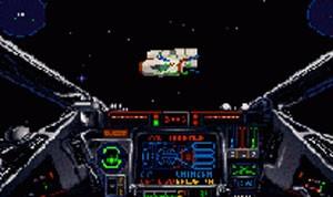 Cena de 'X-Wing', do PC, lançado em 1993 (Foto: Divulgação/LucasArts)
