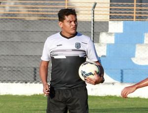 Humberto Santos, treinador do Treze (Foto: Junot Lacet Filho / Jornal da Paraíba)