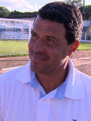 Luciano Bainao, técnico, Osvaldo Cruz (Foto: Reprodução / TV Fronteira)