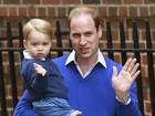 Príncipe William diz na TV que torce para que George seja fã do Aston Villa