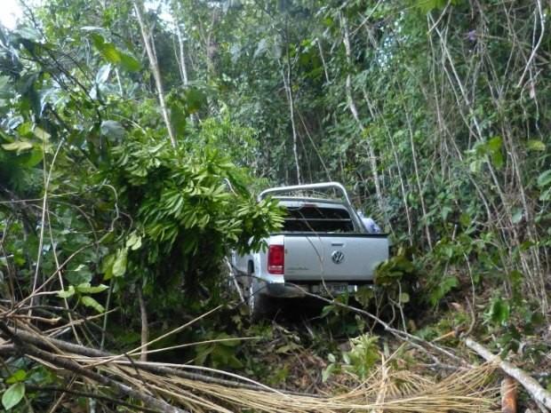 Deputado Cabo Maciel perdeu controle do carro na AM-010 (Foto: Divulgação)