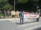 Estudantes da Gama Filho protestam em frente ao Ministério da Educação