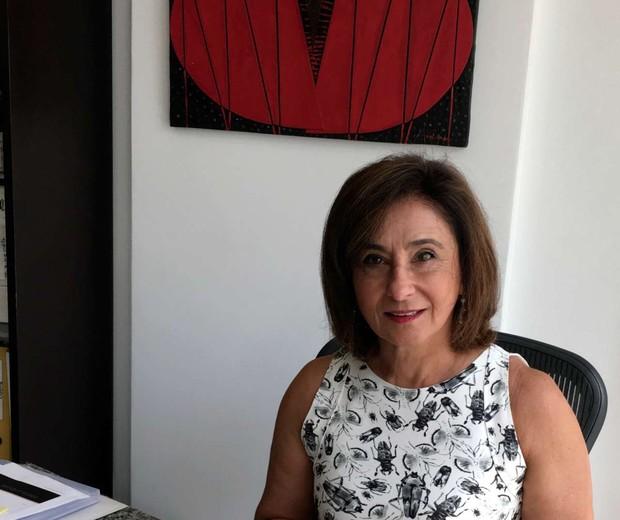A irmã claudine, que mora no rio de janeiro e fez com que o executivo se reaproximasse novamente do brasil (Foto: Divulgação)