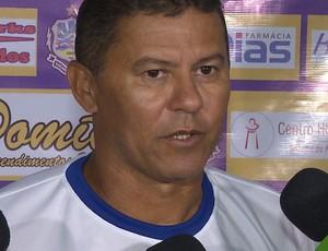 Ramiro Sousa, técnico do Lucena (Foto: Reprodução / TV Paraíba)