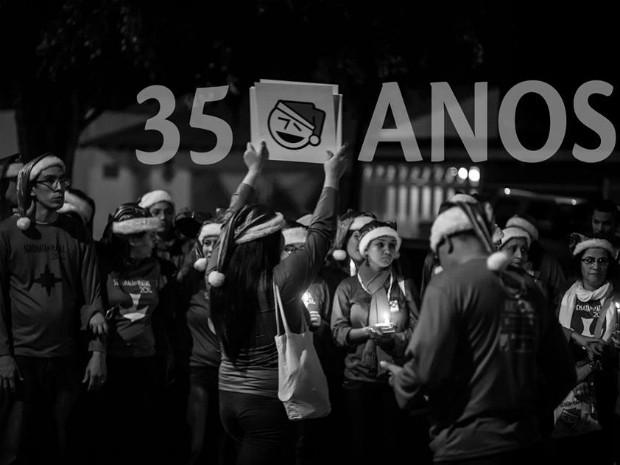 """Grupo """"Serenata de Natal"""", do DF, comemora 35 anos em 2015 (Foto: Divulgação)"""