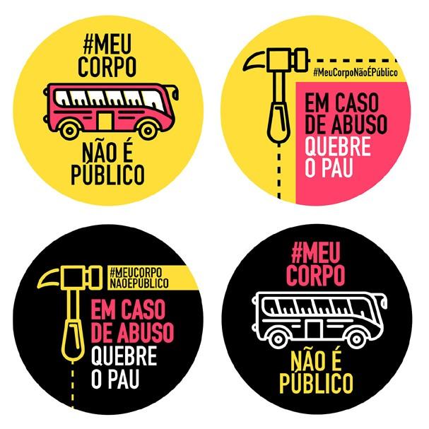#MEUCORPONÃOÉPÚBLICO (Foto: Reprodução)