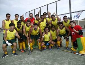 Após o quarto lugar no Pan de Toronto e a vaga em 2016, seleção brasileira de hóquei sobre grama conqyuista torneio internacional (Foto: Federação Pan-Americana de Hóquei (PAHF).)