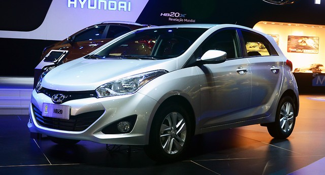 Hyundai HB20 (Foto: Autoesporte)
