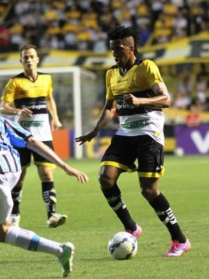 Cortez e Pará Criciúma x Grêmio (Foto: Fernando Ribeiro/Criciúma EC)