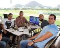 Guerrero aproveita folga para torcer por seus cavalos no Jockey