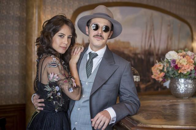 Andréia Horta e Jayme Matarazzo (Foto: Marilia Cabral/TV Globo)