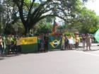 Manifestantes fazem atos em apoio à Operação Lava Jato no interior do RS
