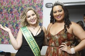 Ex-BBB Maria Claudia e Daiane Bonfim em evento na Zona Norte do Rio (Foto: Anderson Barros/ EGO)