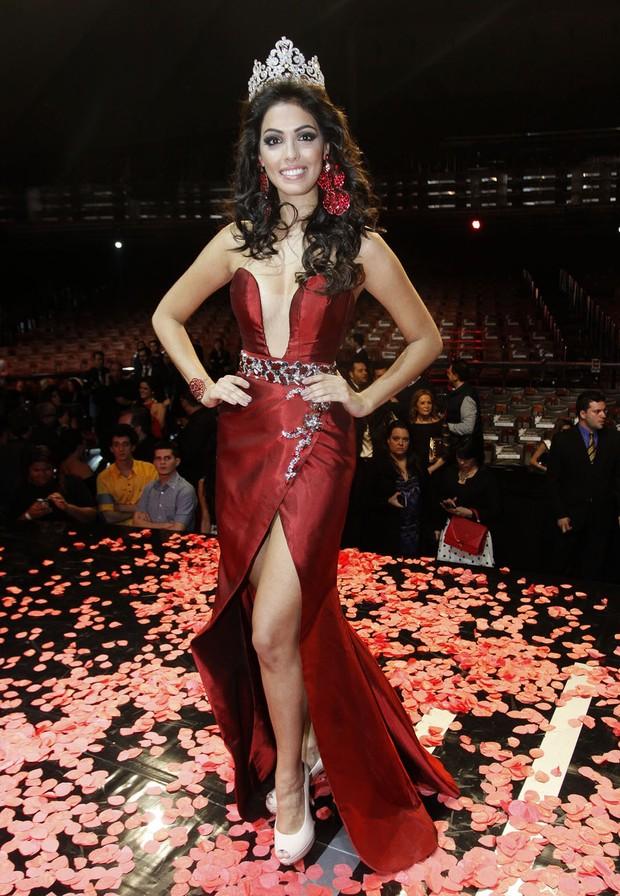 Fernanda Leme, Miss São Paulo 2014 (Foto: Celso Tavares / EGO)