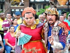 Festival Popular de Teatro acontece em Fortaleza (Foto: Divulgação)