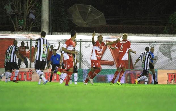 CRB x Ceará, em Coruripe (Foto: Ailton Cruz/ Gazeta de Alagoas)