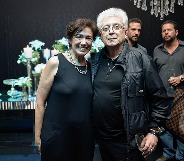 Lilia Cabral e Aguinaldo Silva (Foto: Chris Machado )