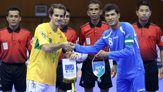 """Goiano Hiram Alcântara ex-seleção de futsal de surdos vai conduzir tocha olímpica: """"Eufórico"""" (Foto: Arquivo pessoal)"""