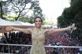 Ivete Sangalo em Salvador (Foto: Wallace Barbosa e JC Pereira/AgNews)